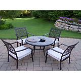Roma 5pc Conversation Set w/ Cushon and Ice Bucket