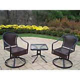 Tuscany 3pc Swivel Set