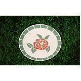 Stepping Stone Mosaic Rose