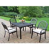 Rochester 40In x 40In 5pc Dining Set with Cushions