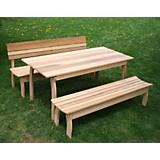 Cedar Couple Dining Set