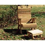 Cedar Royal Country Hearts Patio Chair