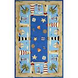 Sawgrass Mills Outdoor Adventure Coastal Blu Rug