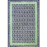 Sawgrass Mills Outdoor Cabana Row Kings Blue Rug