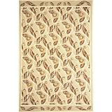 Sawgrass Mills Outdoor Cottage Court Brown Rug