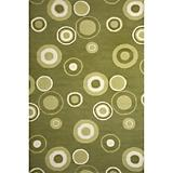Sawgrass Mills Outdoor Cristal Pesto Rug