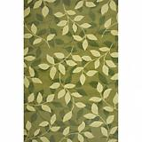 Sawgrass Mills Outdoor Divine Pesto Rug