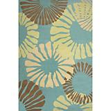 Sawgrass Mills Outdoor Fruit Cocktail Spruce Rug