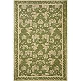 Sawgrass Mills Outdoor Gatsby Pesto Rug