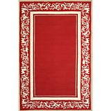 Sawgrass Mills Outdoor Grace Garnet Rug