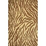 Sawgrass Mills Outdoor Safari Antique Brown Rug