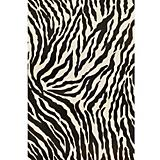 Sawgrass Mills Outdoor Safari Black Rug
