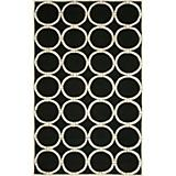 Sawgrass Mills Outdoor Tribeca Black Rug