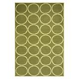 Sawgrass Mills Outdoor Tribeca Pesto Rug