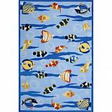Sawgrass Mills Outdoor Underwater Blue Rug