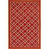Sawgrass Mills Outdoor Watermark Garnet Rug