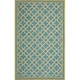 Sawgrass Mills Outdoor Watermark Spruce Rug