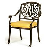 Flower Dining Arm Chair