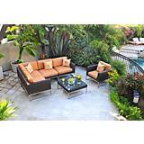 Mirabella 6 Pc Sectional Set