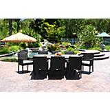 Di jon 9 Pc Dining Set