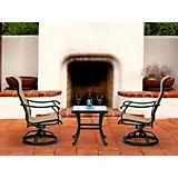 Venice 3 Pc Swivel Set