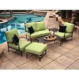 San Michele 6 Pc Deep Seating Set
