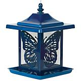 Homestead Electric Blue Monarch Bird Feeder