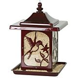 Homestead Jolly Pop Red Hummingbird Bird Feeder