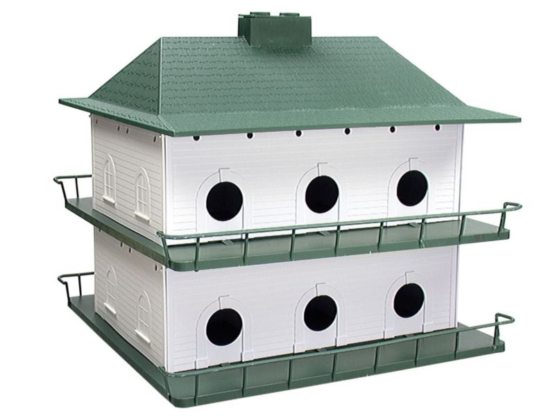 Heath Plastic 12 Room Purple Martin House