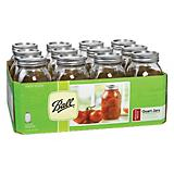 Ball Qt Jars W/ Lids And Bands 12CT