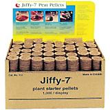 Jiffy 7 Bulk Box Of 1000 Peat Pellets Without Hole