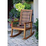 Outdoor Interiors Weather Eucalyptus Rock Chair