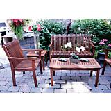 Outdoor Interiors All Keruing Deluxe Arm Chair