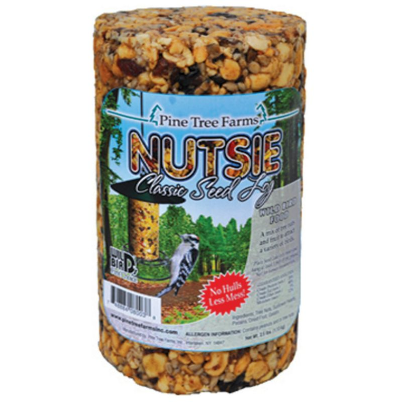 Pine Tree Nutsie Classic Seed Log (PTF8003 748884080038 Wild Bird Supplies Bird Food) photo