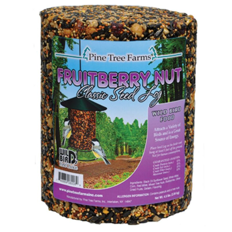 Pine Tree Fruit Berry Nut Classic Seed Log (PTF8006 748884080069 Wild Bird Supplies Bird Food) photo