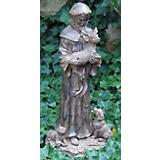 Echo Valley St Francis Holding Deer Statue