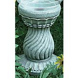 Echo Valley Serpentine Globe Pedestal