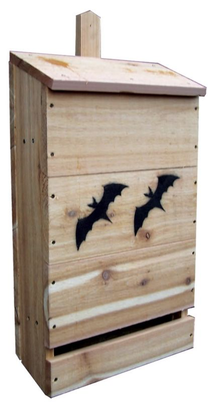 Stovall Wood Nursery Bat House (SP10H 894259002546 Wild Bird Supplies Bird Houses) photo