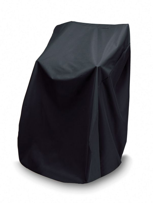 WeatherReady 48 In High/Stack Chair Cover Black