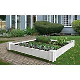 Versailles Vinyl Raised Garden Bed