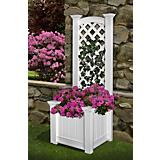 Kensington Vinyl Planter and Trellis