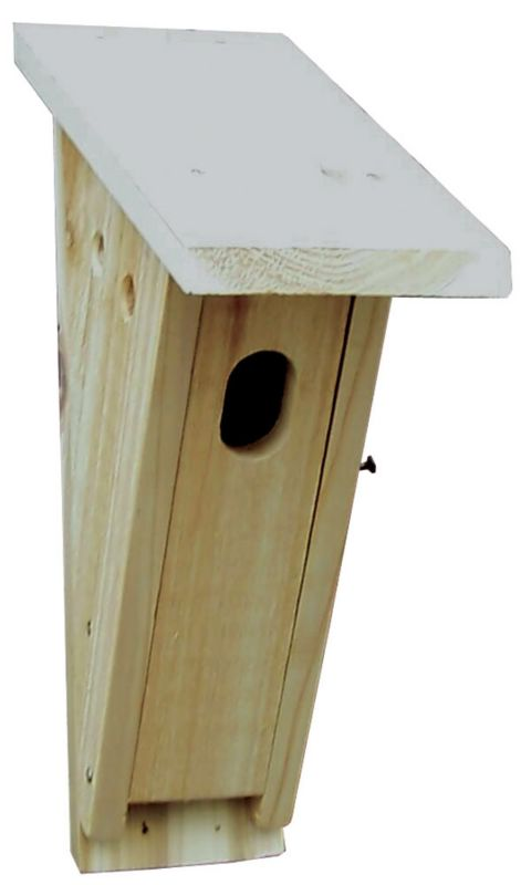 Stovall Wood Peterson Bluebird House (SP3H 894259002447 Wild Bird Supplies Bird Houses) photo