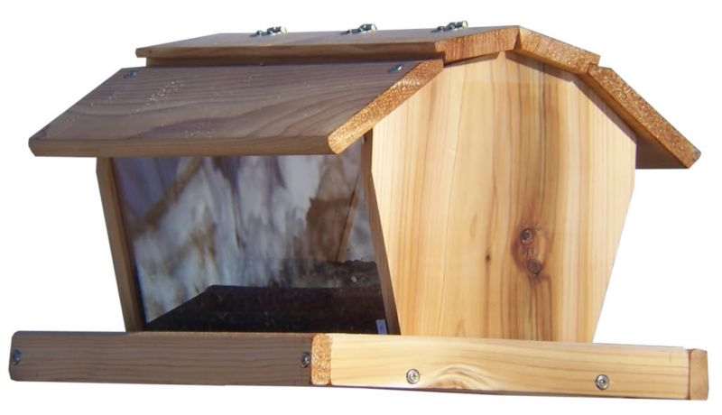 Stovall Wood 25 lb Extra Large Barn Feeder (SP4FL 894259002102 Wild Bird Supplies Bird Feeders) photo