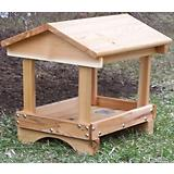 Stovall Wood Pavilion Feeder