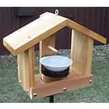 Stovall Wood Oriole Medium Combination Feeder