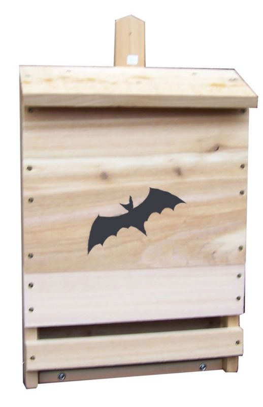 Stovall Wood Single Cell Bat House (SP8H 894259002522 Wild Bird Supplies Bird Houses) photo