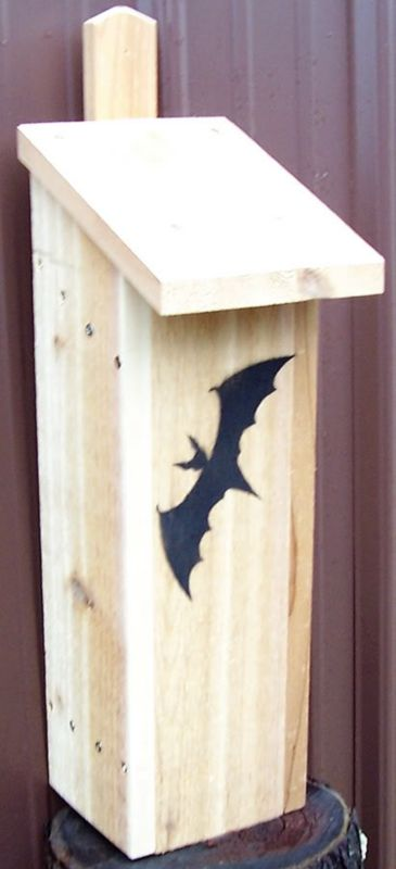 Stovall Wood Bachelor Dwelling Bat House (SP9H 894259002539 Wild Bird Supplies Bird Houses) photo