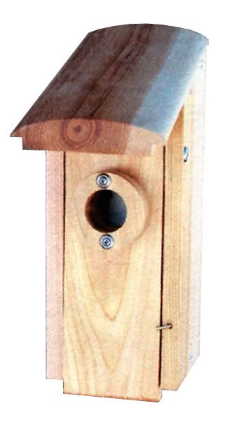 Stovall Wood Country Squire Arch Roof House (SPCS3 894259002393 Wild Bird Supplies Bird Houses) photo