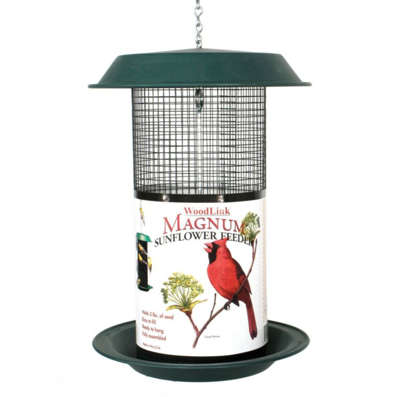 Woodlink Magnum 4Qt Sunflower Feeder (WLLMAG1 715038398103 Wild Bird Supplies Bird Feeders) photo