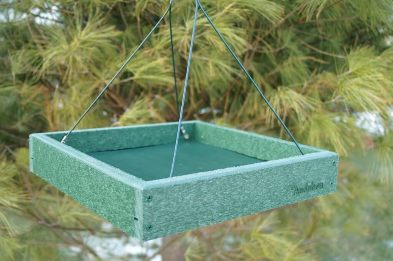 Woodlink Audubon Going Green Platform Feeder (WLLNAGGPLAT 715038308331 Wild Bird Supplies Bird Feeders) photo